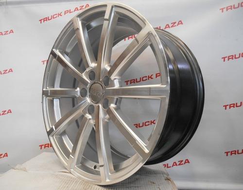 04 rodas audi rs5 aro 19 x 8,5 5x112 et45 prata diamantadas