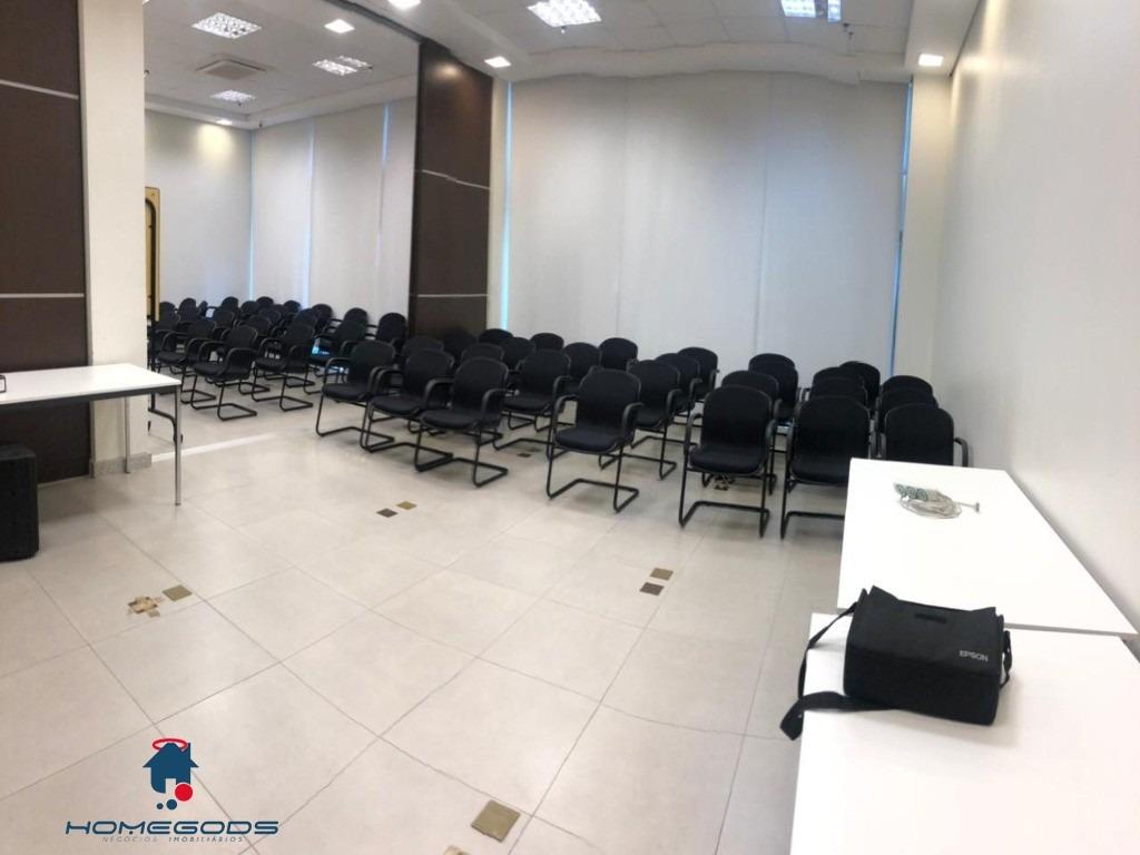 04 salas unificadas para locação no edifício helbor norte sul com 180 metros no bairro cambuí - sa00088 - 33704321