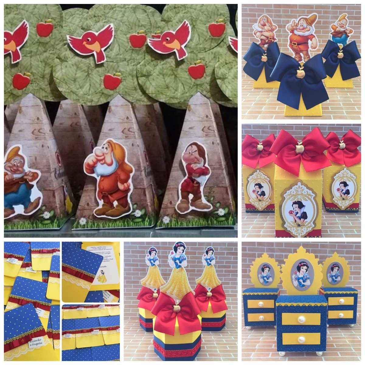 047  Kit Digital Branca De Neve Arquivos Corte Silhouette - R  15,00 em  Mercado Livre c2bee93408