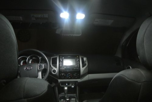 05-15 toyota tacoma led paquete interior + etiqueta + luces