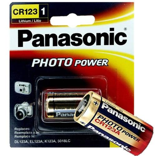 05 bateria photo lithium cr123a 3v com 1 unidade