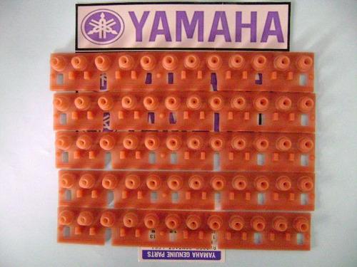 *05 borrachas peças teclado yamaha psr-3000 original s/juros