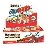 05 caixas 100 un ratoeira adesiva visgo pega cola rato aeio@