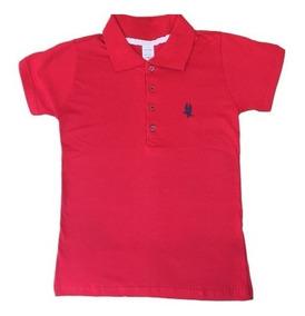 3863d2f30edb9 Camisa Polo Feminina Algodao - Pólos Femininos Curta com o Melhores Preços  no Mercado Livre Brasil