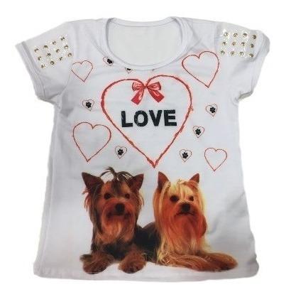 05 camiseta blusa infantil menina roupas infantis atacado