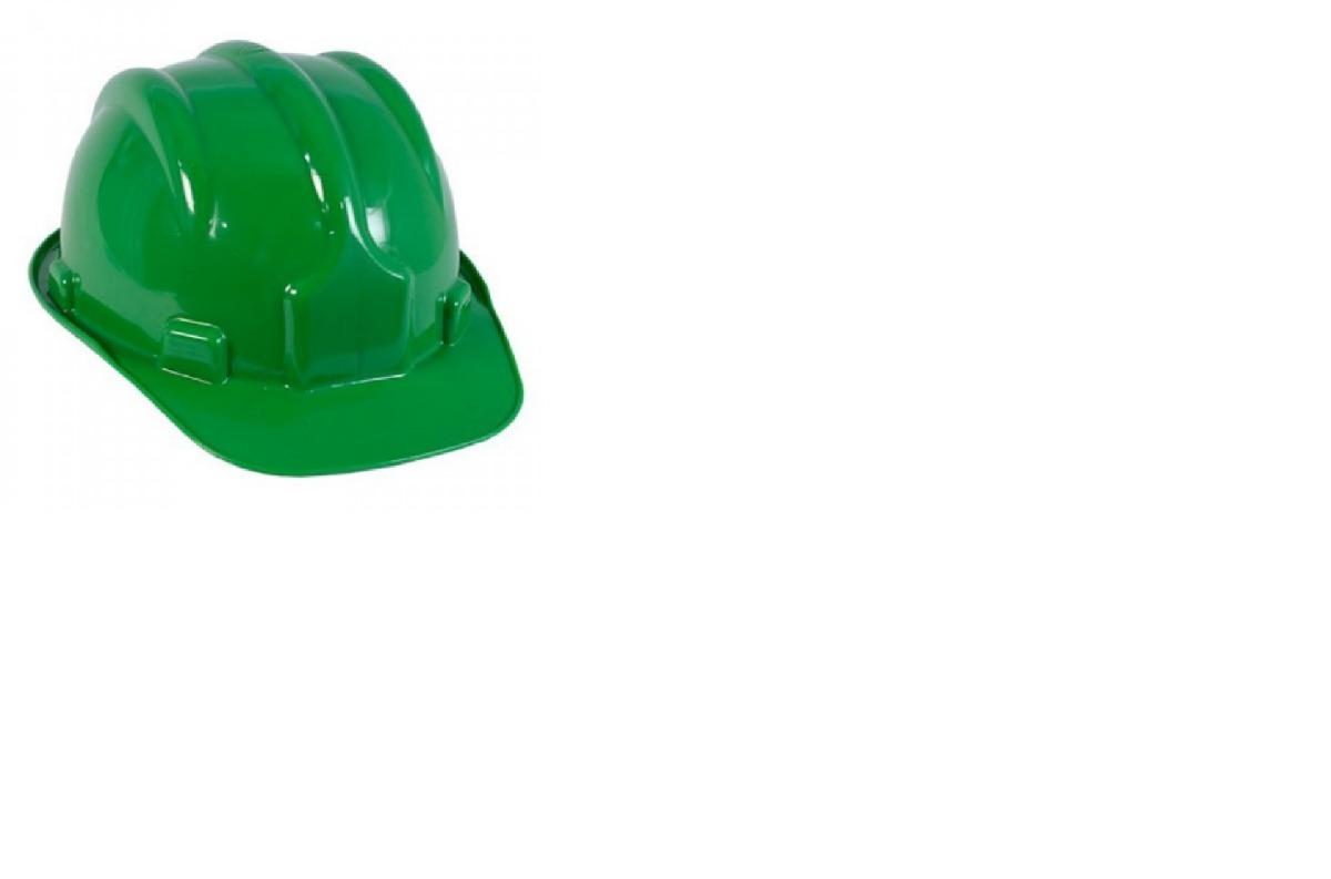 05 Capacete De Segurança Verde Plastcor Ca 31469 - R  40,00 em ... e728da450c