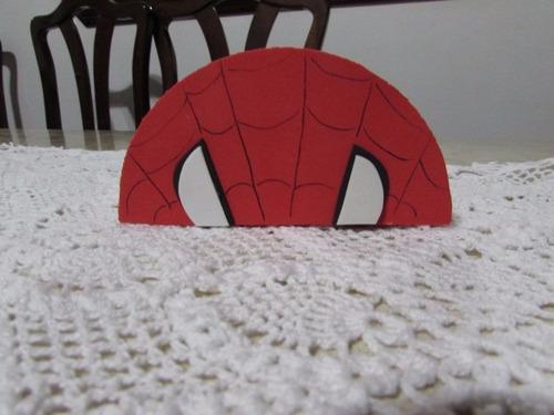 05 homem aranha em eva enfeite de mesa