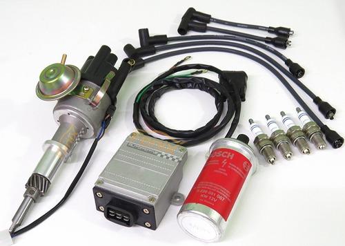 05 - kit ignição eletrônica gm opala caravan c10  motor 4cc