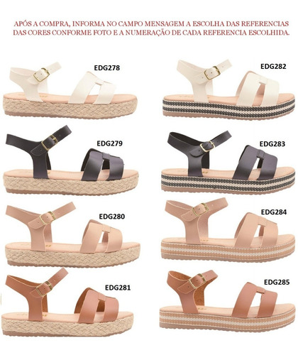 05 pares sandália sapato feminina chiquiteira atacado revenda chiqui/9867