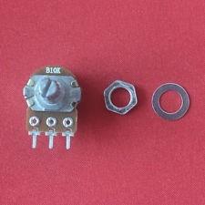 05 potenciometros simples * eixo 15mm 10k