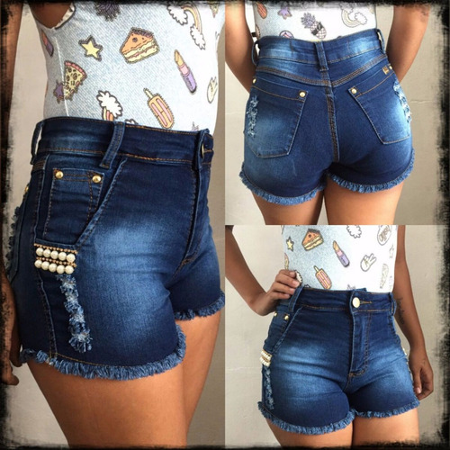 05 short jeans roupa lycra padrão fabrica leia kitpadrao@
