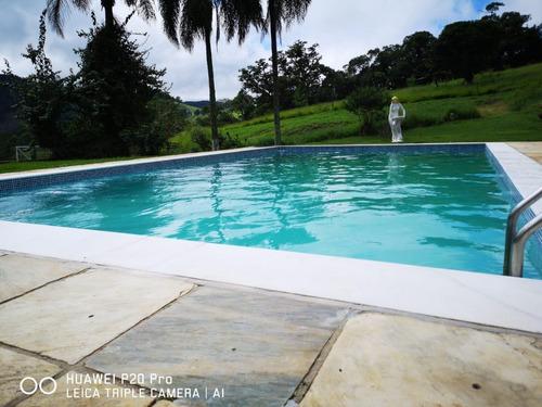 05 - vendo chacrinha com piscina 100% documentada