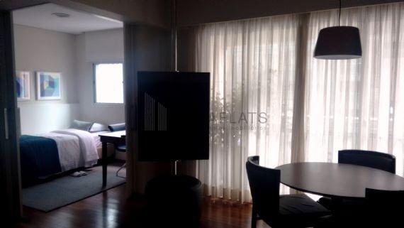 05003 -  flat 2 dorms. (1 suíte), bela vista - são paulo/sp - 5003