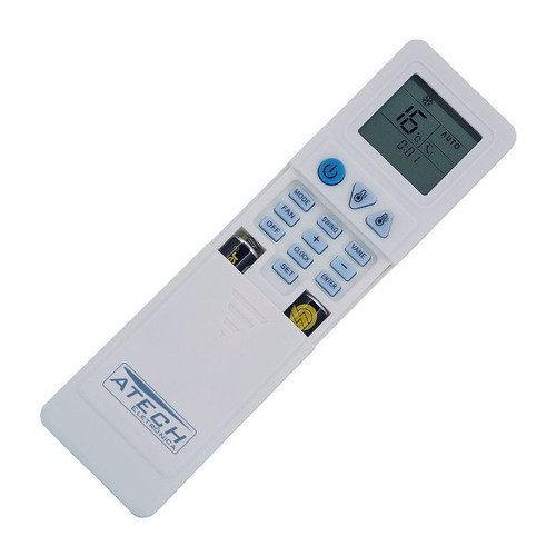 0566 - controle remoto universal ar condicionado kt-1000