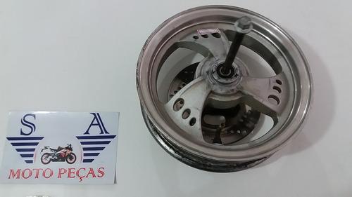 0570 - roda dianteira  dafra smart 125(usado)  2009