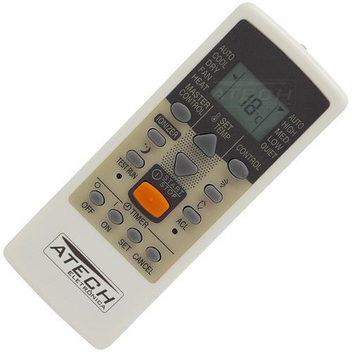 0579 - controle remoto ar condicionado fujitsu ar-je6
