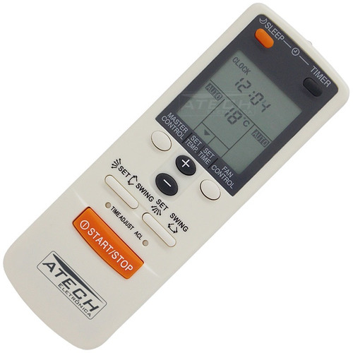 0582 - controle remoto ar condicionado fujitsu ar-jw2