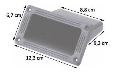 06 alças plastica pequena desenhada para caixas de som