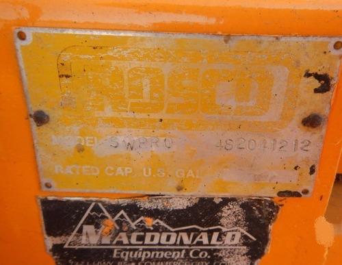 06) barredora para carretera rosco