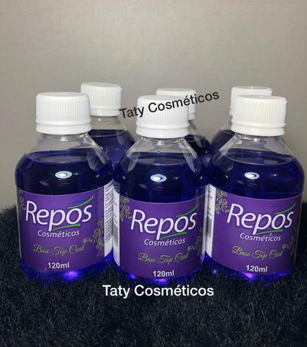 06 base top coat 120ml repos cosméticos