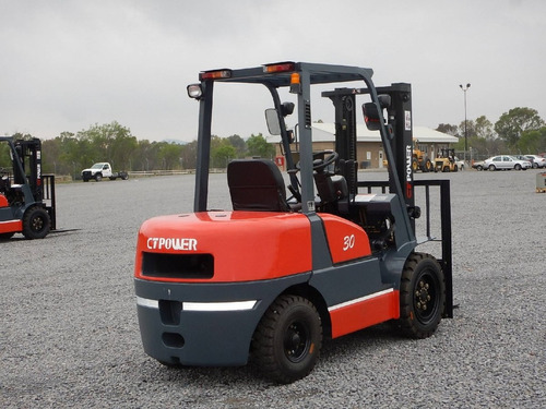 06) montacargas nuevo ct power 3 ton diesel