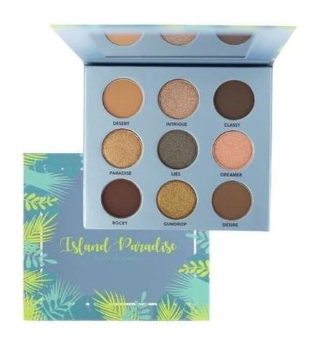 06 paletas de sombra city girls tropical paradise 2 versóes.
