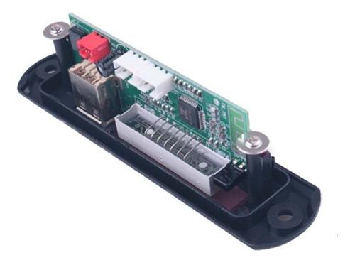 06 placa decodificador usb p/ caixa ativa mp3 fm aux bluetoo