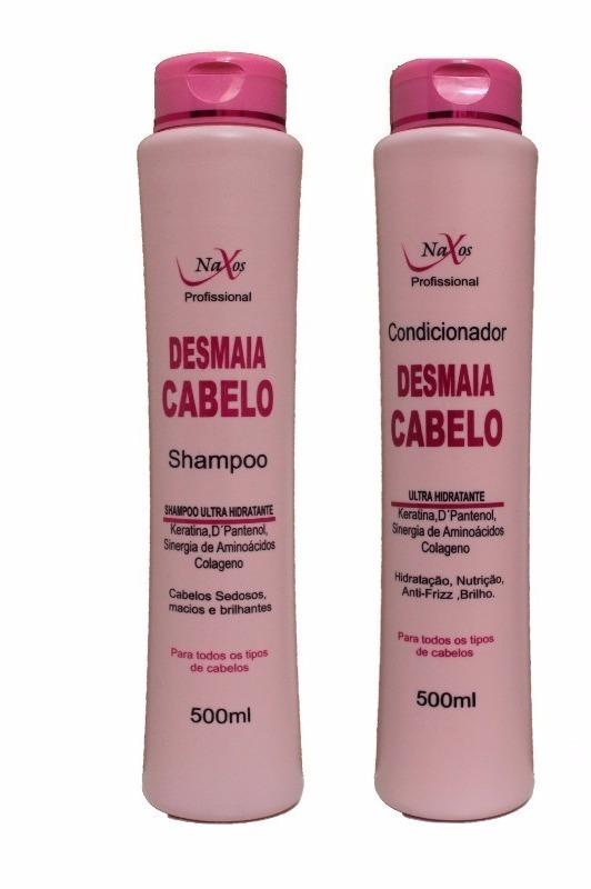 ec50d9f5e 06 Shampoo + 06 Condicionadores Naxos Desmaia Cabelos 500g!! - R$ 55 ...