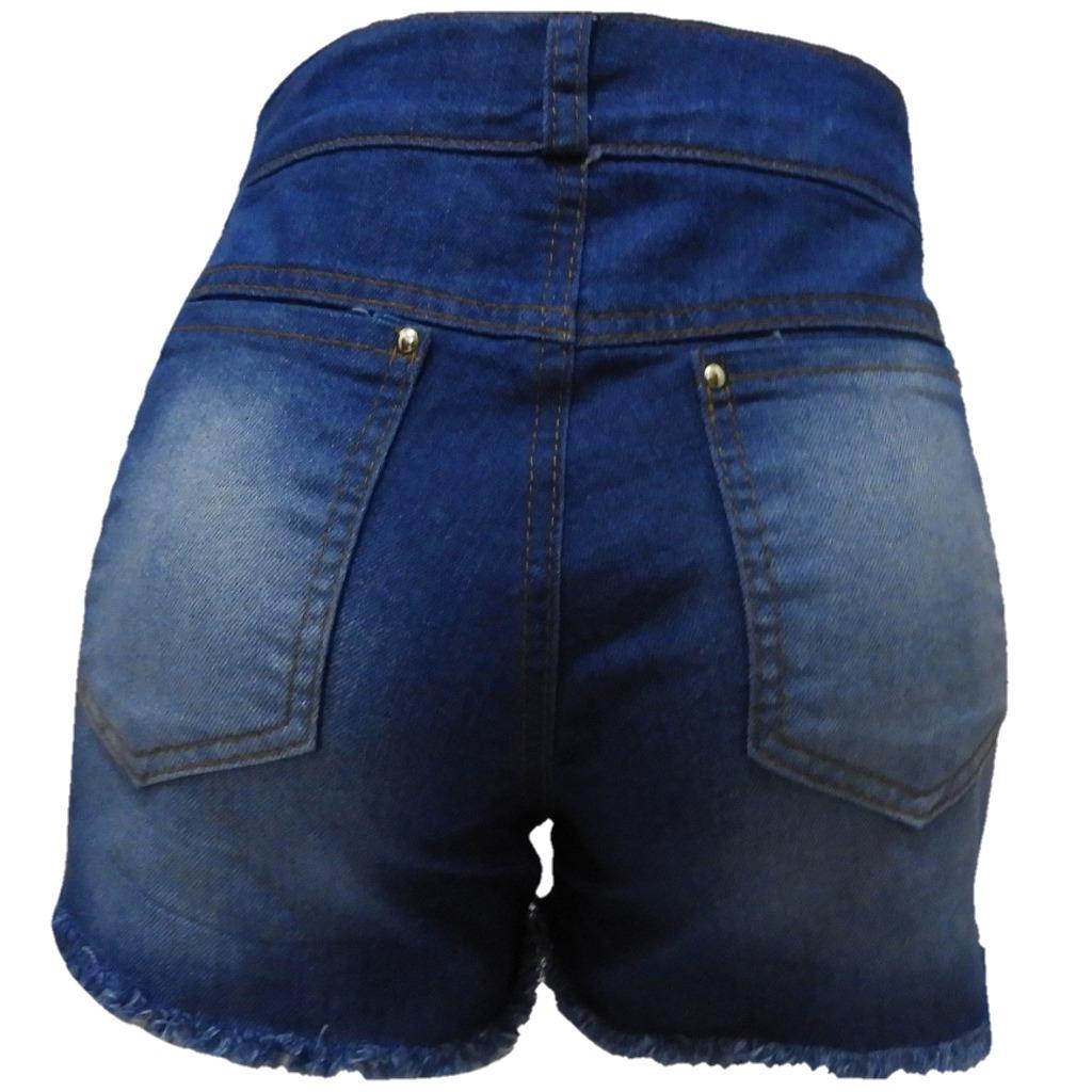 06 shorts jeans feminino hot pant atacado pra revenda barato. Carregando  zoom. 47ce6b8681a