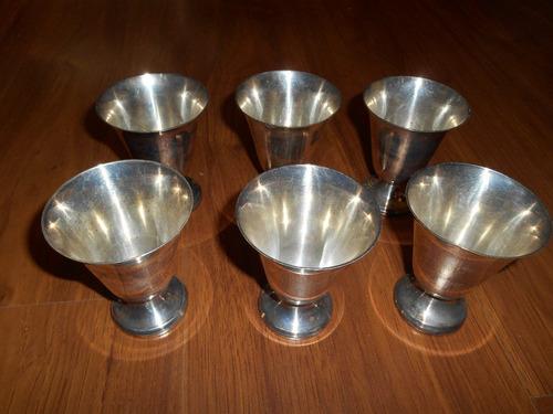 06 taças em prata 90