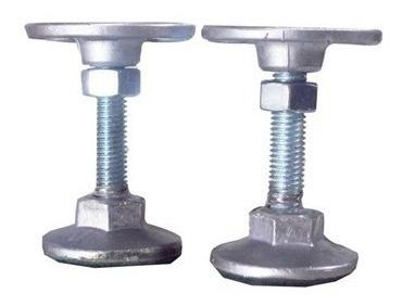06 unidades pé nivelador alumínio mesa bilhar sinuca snooker