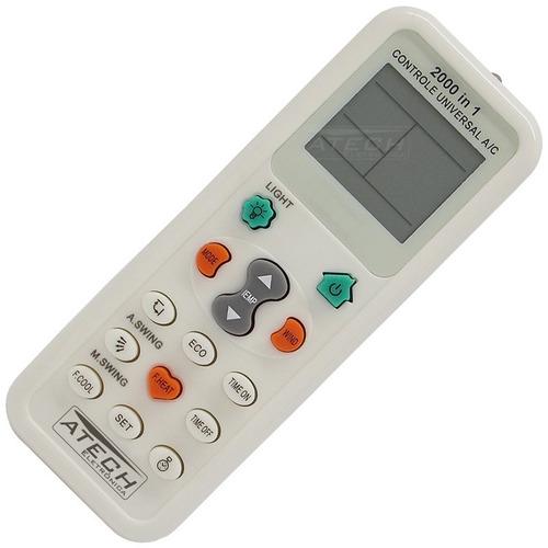 0604 - controle remoto universal ar condicionado 200 marcas
