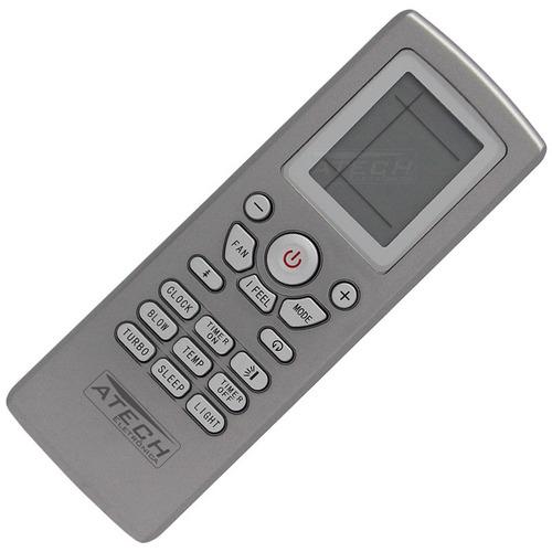 0615 - controle remoto ar condicionado gree yt1f