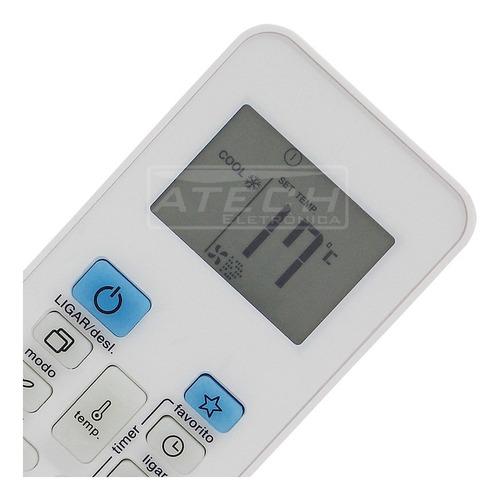 0667 - controle remoto ar condicionado springer rg52b/e