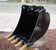 07) cucharon nuevo de 60 y 30 cm para retroexcavadora