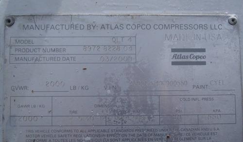 07) torre de luz atlas 2009 4 lamparas de 100w c/u