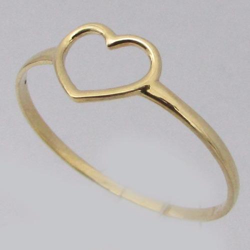 0741 anel em ouro 18k 750 rpw ro joias