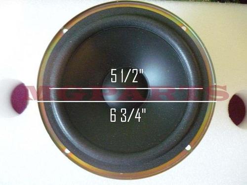 08-964 corneta bajo woofer 6 ohm  6 3/4 120watt  doble imán