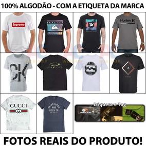1de83801ec Camisas Marcas Famosas - Camisa Manga Curta Masculino no Mercado ...