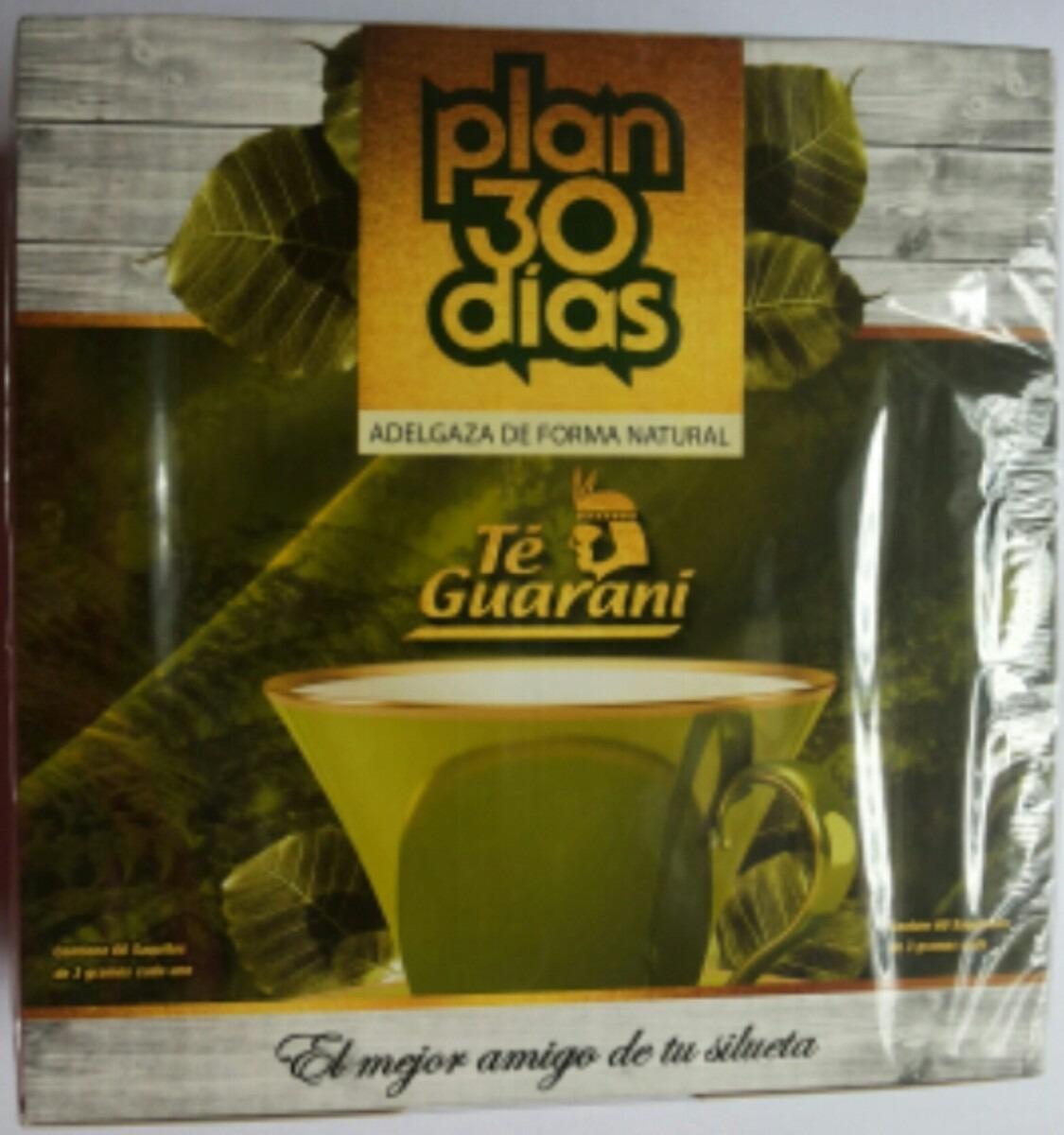 08 Chá Plan 30 Dias- Kit Com 08 Plan Té Guarani- Py - R  249 3d22ee2b98397