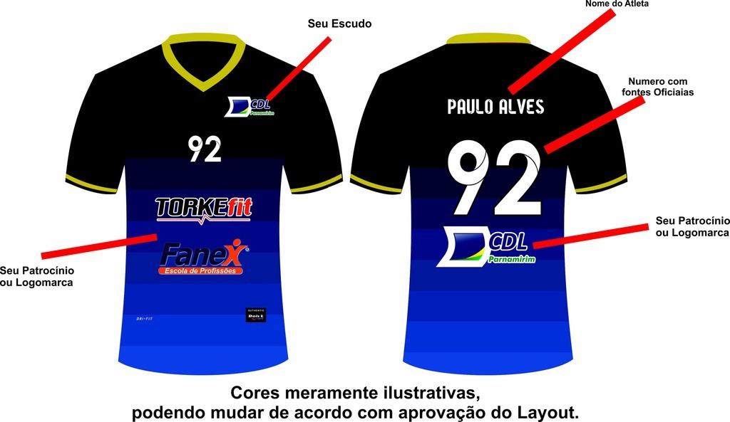 f37c592418065 08 Conjunto Personalizado P  Futebol (calção E Camisa) - R  360