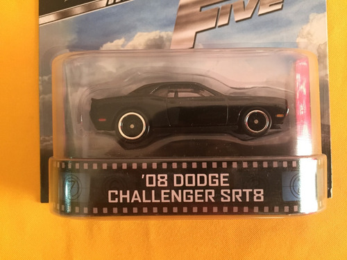 '08 dodge challenger srt8 - hot wheels retro