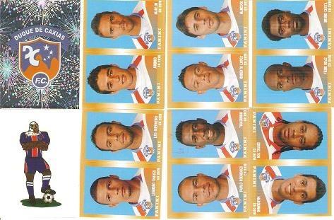 08 figurinhas - campeonato brasileiro 2010 - duque de caxias