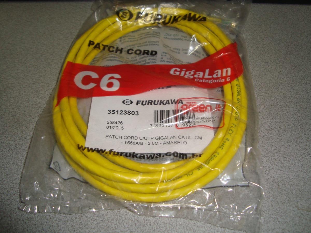 patch cord cat6 furukawa 2m
