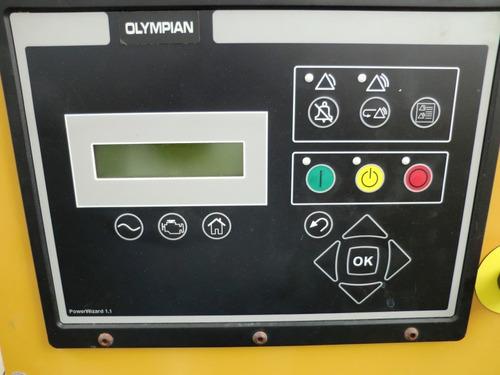 08) planta de luz olympian 30 kw 127/220v