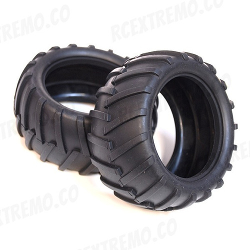 08009setx2 llantas neumáticos monster 1:10 esponja interna