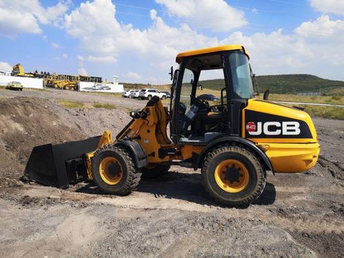 09) cargador frontal jcb 406, 2008