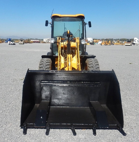 09) cargador frontal / payloader jcb 2008