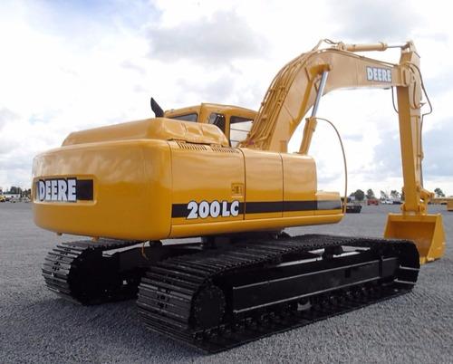 09) excavadora john deere 200lc 1999 con kit hidraulico