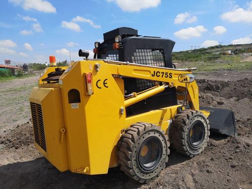 09) minicargador taian tamec jc75s 2016 sistema hidraulico